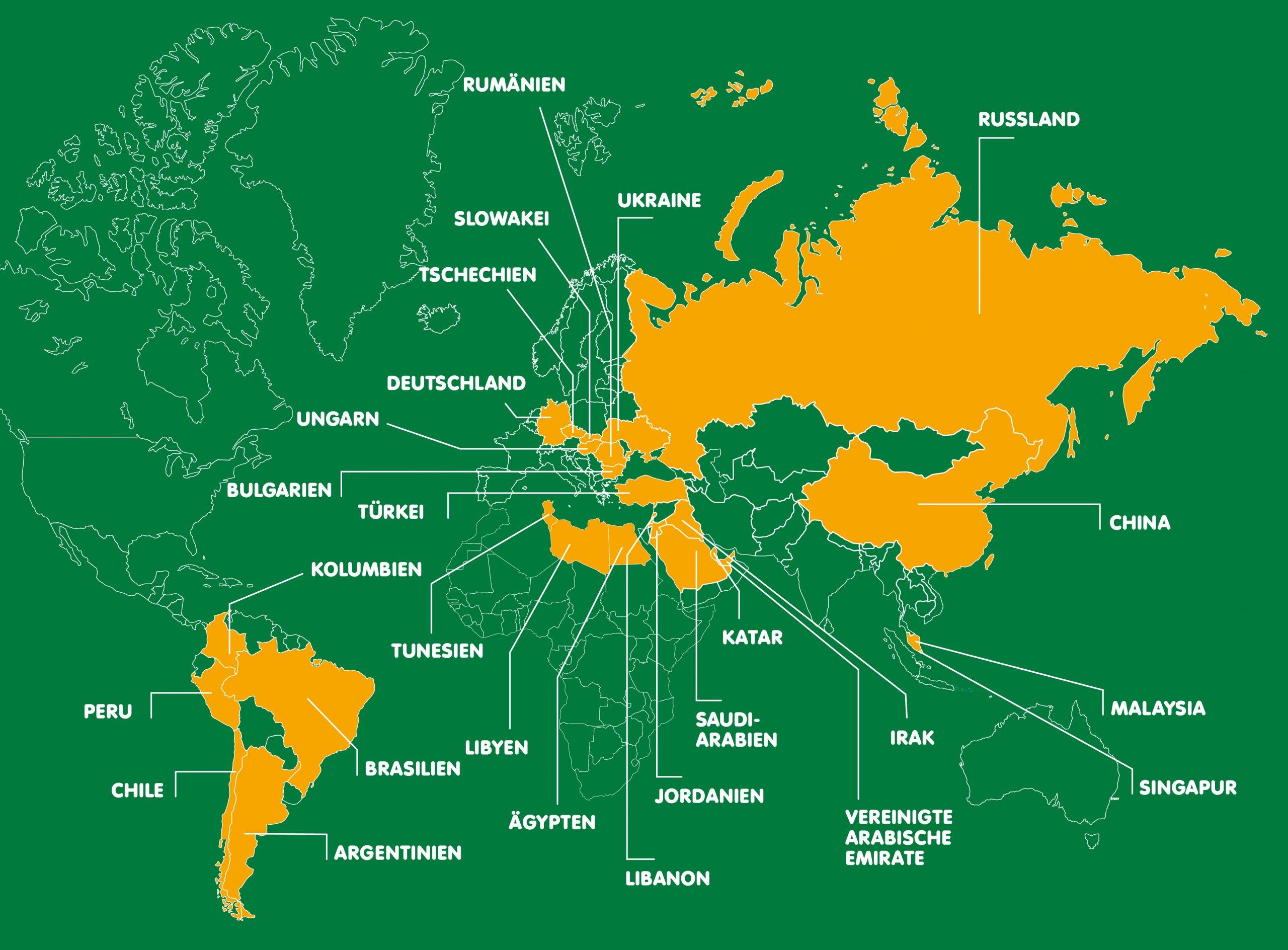 Comidamed weltweit: Erfahren Sie, wo unsere Produkte erhältlich sind
